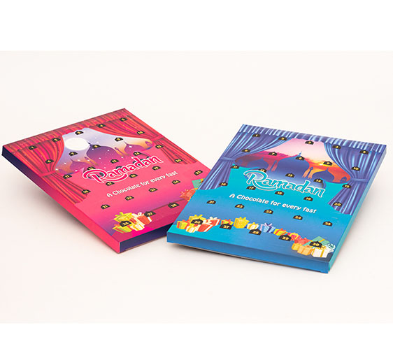 custom printed advent calendars