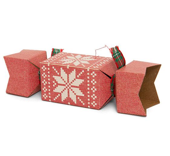 Printed cracker packaging